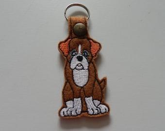 Boxer (Embroidery/Felt/Keychain)