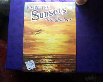 Painting Sunsets by Violet Parkhurst
