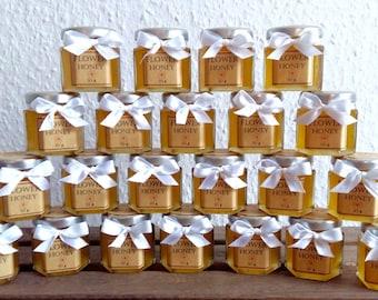 Honey jar Wedding favors/honey favour/baby shower favors/honey favor/honey jar wedding favors/bridal shower favors/wedding favors