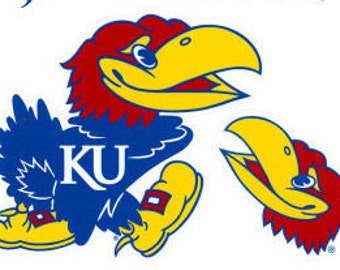 Kansas Jayhawks Decals