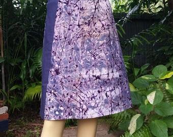 Cotton Skirt 08 A-Line Ghana Printed Fabric