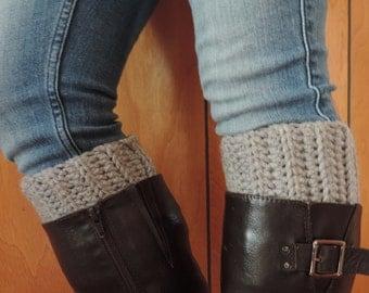 Women's Crochet Boot Cuffs