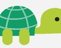 Turtle- A digital embroidery design download