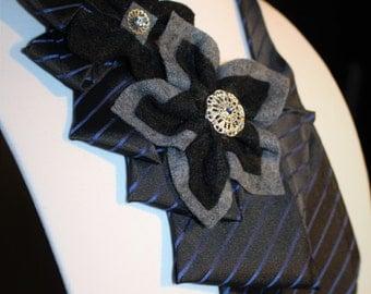 Necktie Statement Necklace