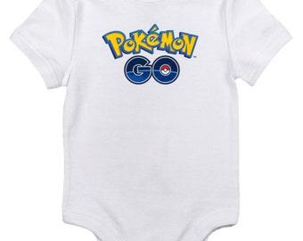 Pokemon Go Bodysuit! Handmade! Made To Order!! Baby Shower Gift