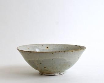Kaiyu Bowl 7.1 in (Ash Glaze ) / Koji Kitaoka (15005710-6K)