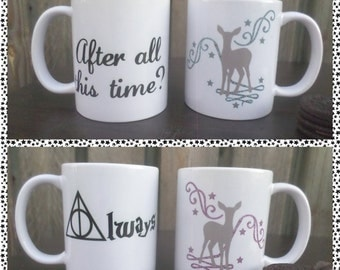 Movie Inspired Mugs (Harry Potter)