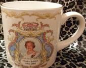 Queen Elizabeth 11 Golden Jubilee commemerative mug Golden Jubilee 19522002 Price Kensington pottery mug Royal Mug