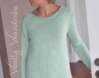 KNITTING PATTERN - April Sweater