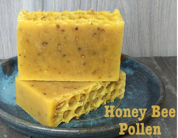 Honey Bee Pollen Soothing Soap Great Facial or by