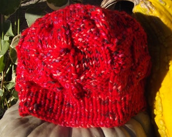 Bulky Knit Cotton/Acrylic Hat