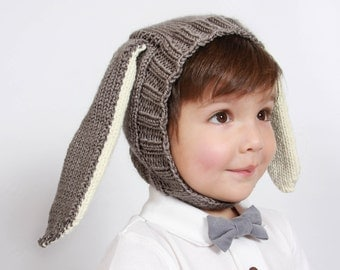 Anthropologie Inspired Knit Bunny Hat- PATTERN