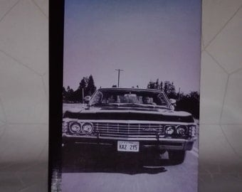 SALE 1967 Chevrolet Impala - Supernatural Fandom Notebook
