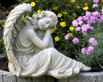 Large Angel Wings sculpture Terrace Garden Tomb apartment Frostresistent