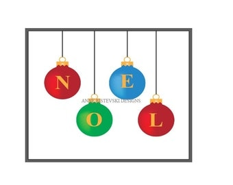Christmas Prints, Noel, Noel Prints, Noel Art, Artwork, Christmas Art, Artwork, Home Decor, Room Decor, Digital Art, Wall Art, Fine Art, Art