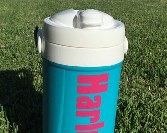 Water jug name decal...perfect for camps!
