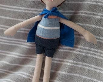 Henry - 31cm boy rag doll