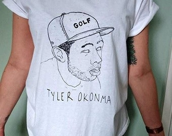 Tyler the creator t-shirt 'rappers that sound cool until you find out there real names'