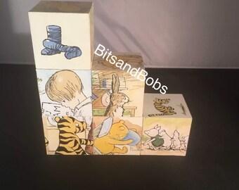 Winnie the Pooh nursery blocks