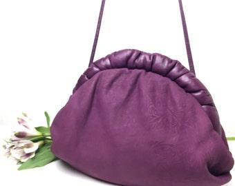 80's Totally Purple Cross Body Bag