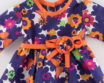 18 Inch Doll Dresses - American Girl Doll Dress - 18 Inch Doll Dress - Doll Dress - Doll Dresses  - Gift for Girls - Purple Dress
