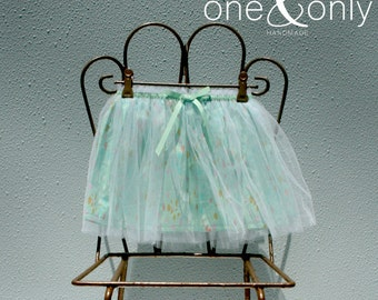 Tulle Overlay Skirt - X-Small (1-2 yrs)