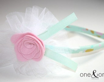 Sewing Kit - Felt Rose Headband
