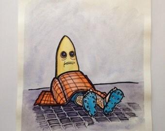 Banana's Hard Knock Life on da Mean Streets of Ituna