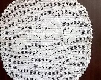 Rose - crochet handwork