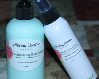 Green Irish Tweed Moisturizing Body Lotion (8oz), Moisturizing Body Spray (4oz)