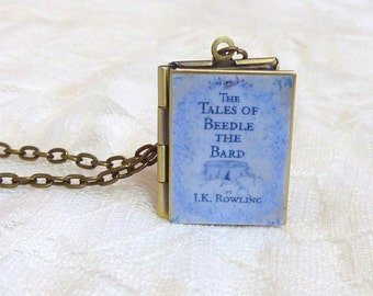 Tales of Beedle the Bard Story Locket