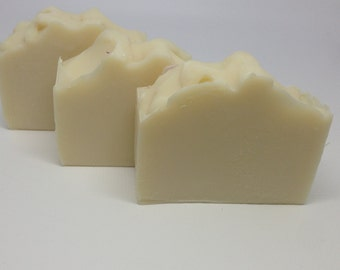 Unscented Coconut Milk Soap Falling Water Soap Company, Handmade Soap, Homemade Soap, Cold Proccess Soap, CP Soap, Vegan Soap, All Natural
