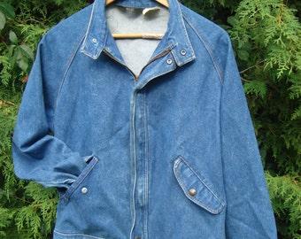 Wrangler Jacket, Jean Jacket, Oversized, Denim Jacket, 90s Clothing, 80s Clothing, Wrangler Jeans, Jean Jacket, Button Up, Denim, Size M