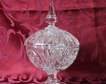 Leaded Crystal Candy Dish, #402