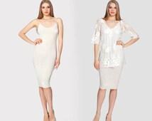 Eden 3355 Midi Dress, Spaghetti Strap Dress, Sleepwear, Chemise, Wedding Day, Bridal Sleepwear, Wife gift, Sexy Gift   by VIPA