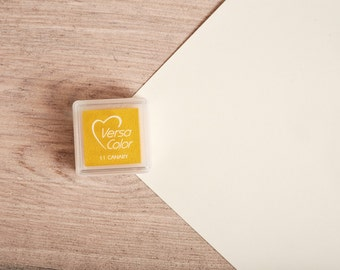 Yellow - Rubber Stamp Mini Ink Pad