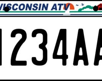 Wisconsin ATV Plates
