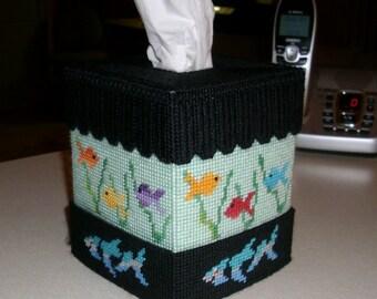 Fish Tank Tissue Box