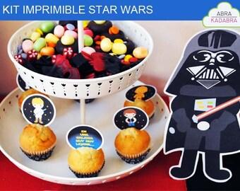 Printable Kit Star Wars