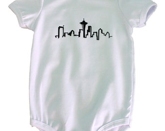 Seattle Skyline Onesie/T-Shirt