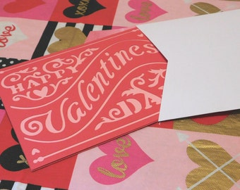 Valentine's Day Blank card, greeting card, blank card, love