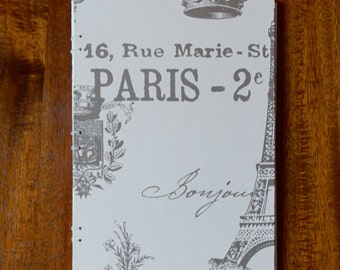 Hand Bound Paris Travel Journal/Diary/Notebook