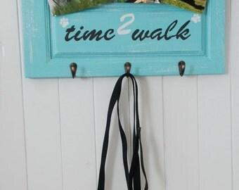 Dog Leash Holder Hook, Wall Key Holder, Key Rack, Decorative Key Hook, Dog Picture Frame