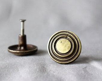 Vintage Cabinet Handles / Set of 2 /
