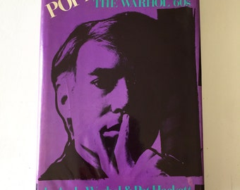 "SALE****Andy Warhol ""POPISM"" The Warhol '60s Hardback First Edition Book"