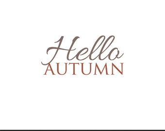 hello autumn clip art svg dxf file instant download silhouette cameo cricut digital scrapbooking commercial use