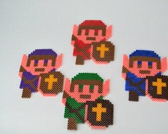 Perler Bead Legend Of Zelda Link