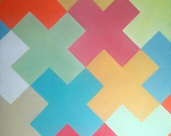 Colored Crosses