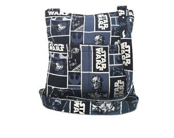 Star Wars Crossbody Bag // Sling Bag // Crossbody Purse // Hipster