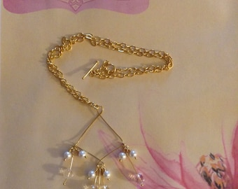 Quartz and Seed Necklace